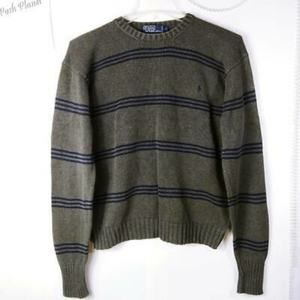Vintage Polo By Ralph Lauren Mens Sweater L